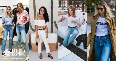 2017年夏季,牛仔裤怎样穿搭最时髦?