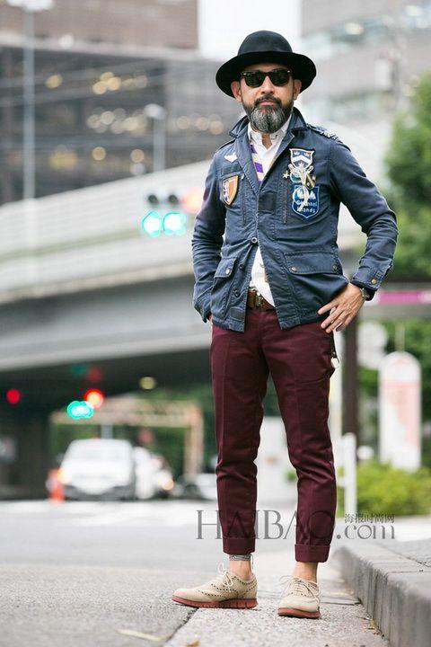 只留好品味 日本型男实用派穿搭示范