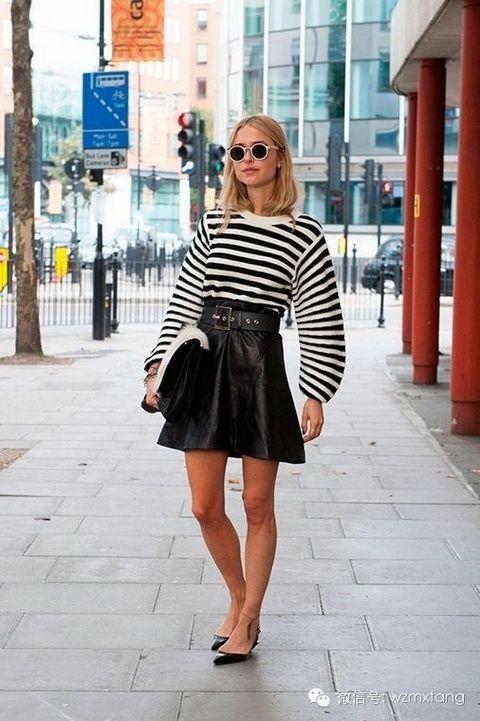 黑白不低调!伦敦时装周街拍系列